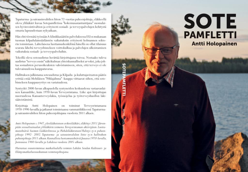 Tiedote: SOTEPAMFLETTI - Antti Holopainen