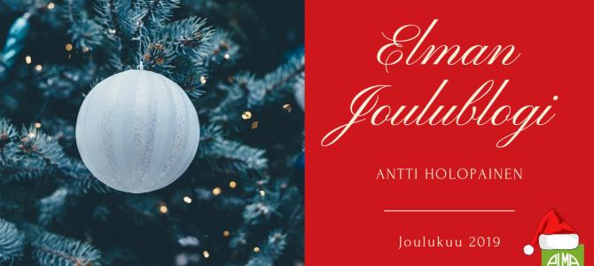Elman joulublogi 2019
