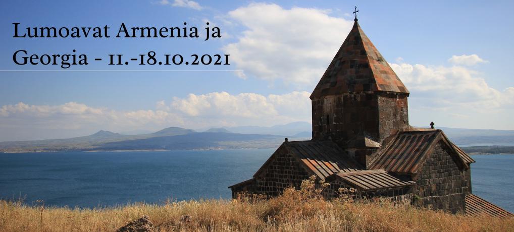 Lumoavat Armenia ja Georgia – 11.-18.10.2021