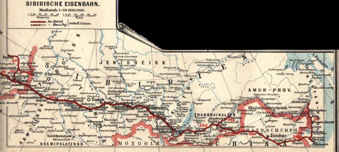 Junassa välillä Jekaterinburg – Irkutsk 29.8.-1.9.19