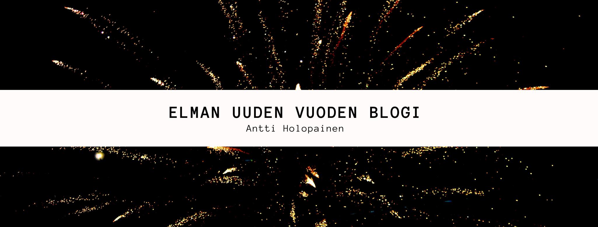 Elman Uuden Vuoden blogi